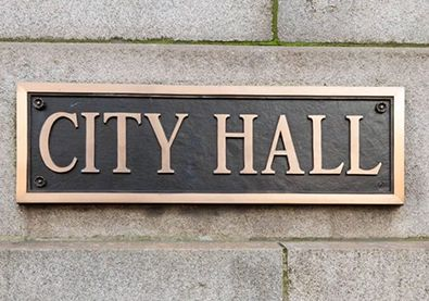 City Hall Plaque